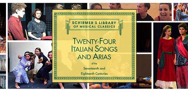 Act Too Studio Opera Workshop Presents: 24 Italian Songs & Arias